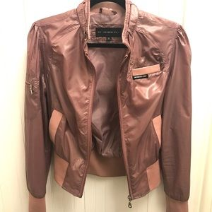 Members Only Dusty Rose Bomber Jacket